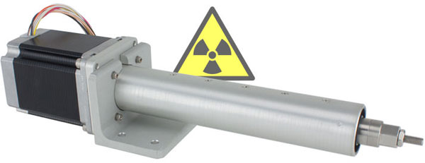 Radiation Linear Actuator