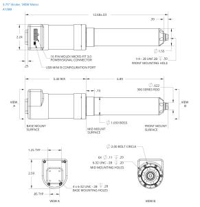 Servo Cylinder Datasheet